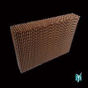 Pacco evaporativo in cellulosa 600 x 1500 x 100 mm passo 7 zyx zpu28 2