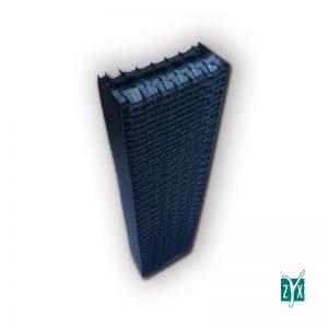 Separatore di gocce in pvc 300 x 130 x 1200 mm zyx zse57 1
