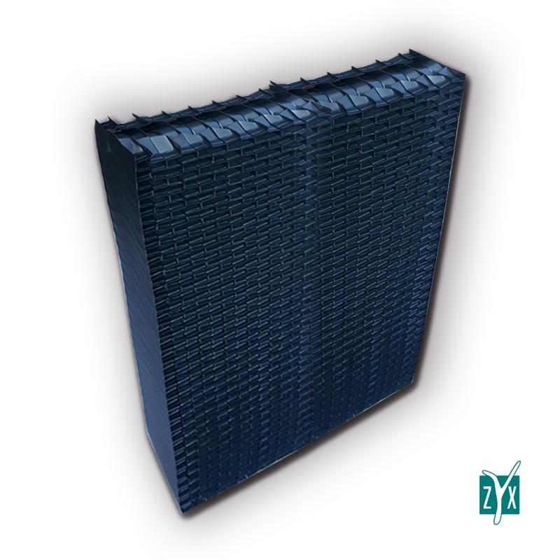 Separatore di gocce in pvc 600 x 130 x 1200 mm zyx zse58 1