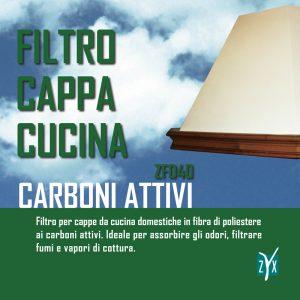 Filtro cappa cucina ai carboni zyx zfd40