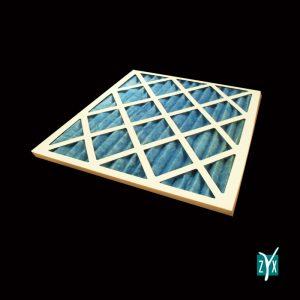 Prefiltro a cella con telaio in cartone per uta g3 592 x 592 x 48 mm zyx zce12 1