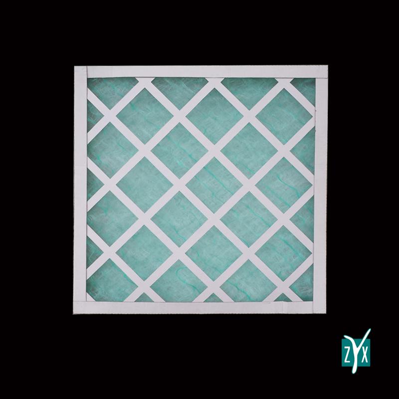 Prefiltro a cella in fibra di vetro con telaio in cartone 500 x 500 x 48 mm zyx zce49 1