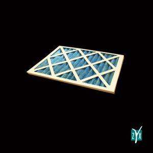 Prefiltro mezza cella con telaio in cartone per uta g3 287 x 592 x 48 mm zyx zce14 1