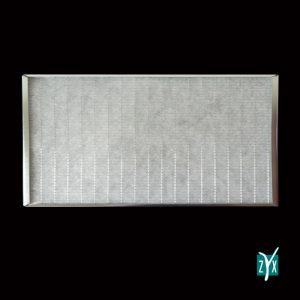 Prefiltro mezza cella piana con telaio metallico per uta g3 287x592x23 mm zyx zce62 1