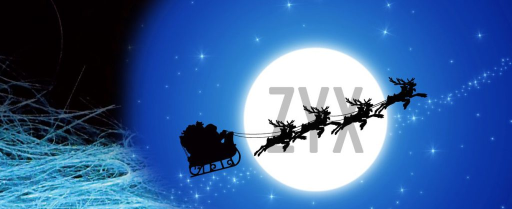 auguri buone feste 2017 da zyx