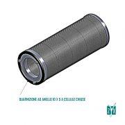 Cartuccia Cilindrica Per Carbone Attivo Granulare Vuota Diametro 160 x 400 mm Zyx Zcbccv 2