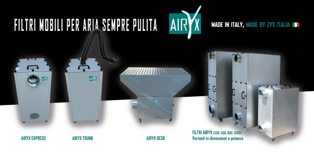 Airyx, la nuova tecnologia ZYX per depurare l'aria
