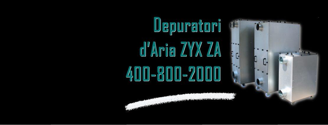 depuratore aria zyx za 400 800 2000 zyx italia filtri