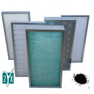 Filtri di ricambio per depuratori ZYX-ZA 400 e 600